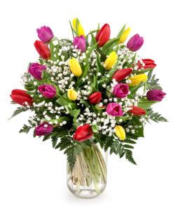 ramo de tulipanes zaragoza